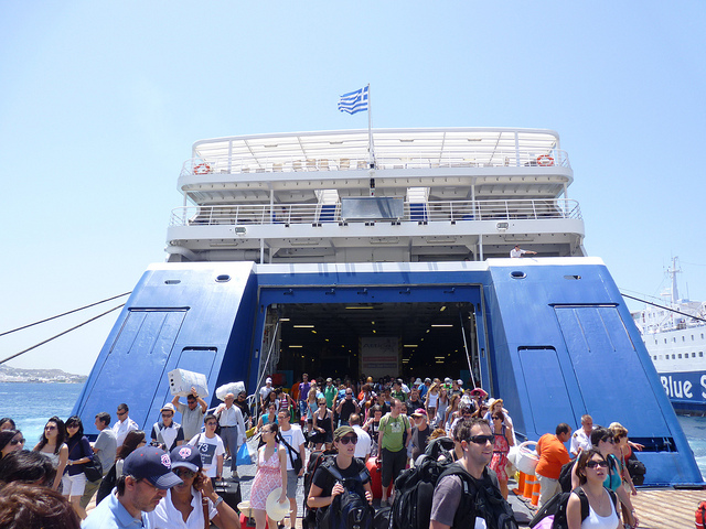 Ferries a Mykonos