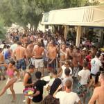 Fiesta y vida nocturna en Mykonos